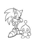 Sonic da colorare 58