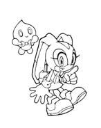 Sonic da colorare 74