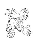 Sonic da colorare 80