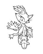 Sonic da colorare 81