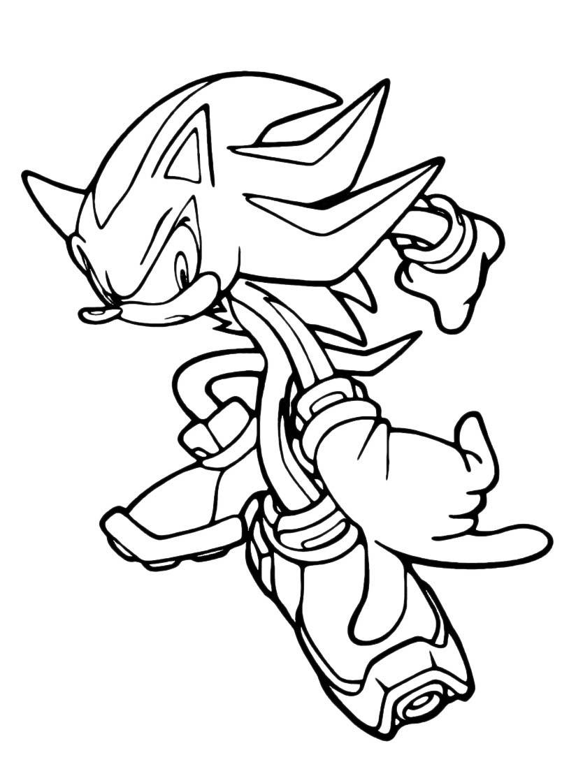 Sonic da colorare 85