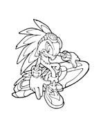 Sonic da colorare 89