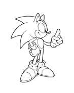 Sonic da colorare 92