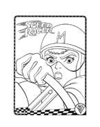 Speed racer da colorare 8