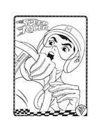 Speed racer da colorare 12