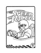 Speed racer da colorare 37