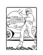 Speed racer da colorare 44