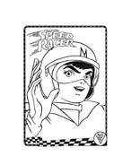 Speed racer da colorare 47