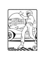 Speed racer da colorare 85