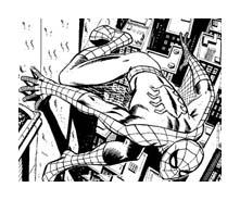 Spiderman da colorare 31