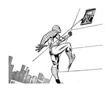 Spiderman da colorare 90