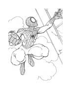 Spiderman da colorare 91