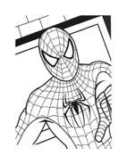 Spiderman da colorare 93