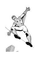 Spiderman da colorare 94