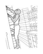 Spiderman da colorare 95