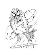 Spiderman da colorare 96