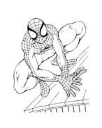 Spiderman da colorare 96