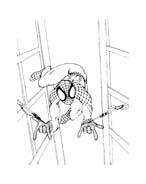 Spiderman da colorare 99