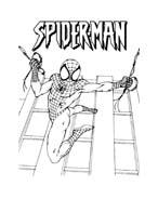 Spiderman da colorare 100
