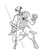 Spiderman da colorare 101