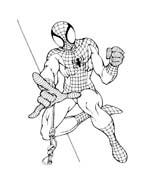 Spiderman da colorare 101