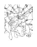 Spiderman da colorare 109
