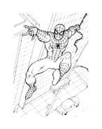 Spiderman da colorare 113