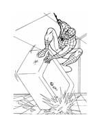 Spiderman da colorare 114