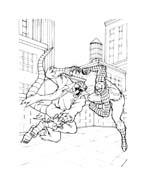 Spiderman da colorare 115