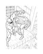 Spiderman da colorare 121