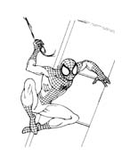 Spiderman da colorare 125