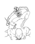Spiderman da colorare 129