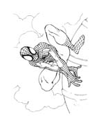 Spiderman da colorare 130