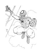 Spiderman da colorare 131