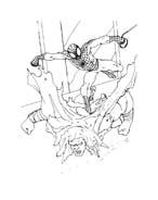Spiderman da colorare 133