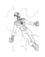 Spiderman da colorare 135