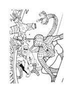 Spiderman da colorare 142