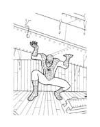 Spiderman da colorare 143