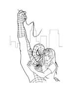 Spiderman da colorare 144