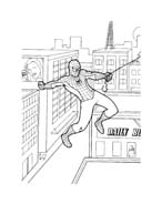 Spiderman da colorare 147