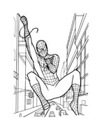 Spiderman da colorare 152
