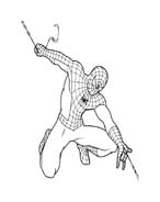 Spiderman da colorare 153