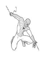 Spiderman da colorare 153