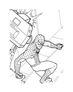 Spiderman da colorare 155