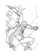 Spiderman da colorare 155