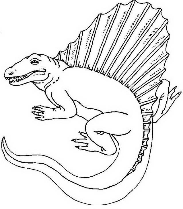 Dinosauro da colorare 336