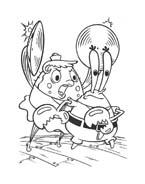 Spongebob da colorare 42