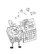 Spongebob da colorare 69