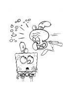 Spongebob da colorare 71