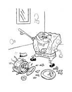 Spongebob da colorare 75